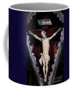 Outdoor Display Of The Crucifixion Of Christ Coffee Mug