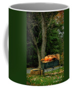 Outdoor Fall Halloween Decorations Coffee Mug