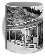 Outdoor Laundry Bw Palm Springs Coffee Mug