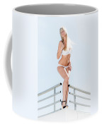 Outdoor Lingerie Portrait Coffee Mug
