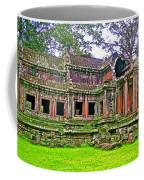 Outer Building Of Angkor Wat In Angkor Wat Archeological Park Near Siem Reap-cambodia  Coffee Mug