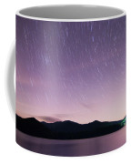 Outer Space Over Lake Santeetlah In Great Smoky Mountains In Sum Coffee Mug