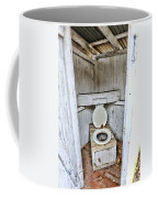 Outhouse A Look Inside Coffee Mug