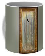 Outhouse Door Coffee Mug