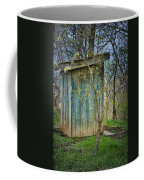 Outhouse In Spring Coffee Mug