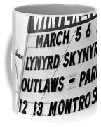 Winterland Marquee 3-6-76 Coffee Mug