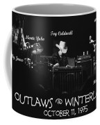 Outlaws With Toy Caldwell 1975 Coffee Mug