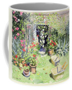Outside Looking In, 1991 Wc On Paper Coffee Mug