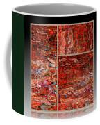 Outside The Box - Abstract Art Coffee Mug