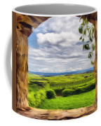 Outside The Fortress Wall Coffee Mug