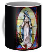 Oval Mary Coffee Mug