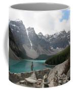 Moraine Lake Lookout - Lake Louise, Alberta Coffee Mug