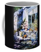 Over Sleepy Garden Walls Coffee Mug