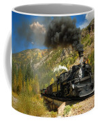 Over The Animas River Coffee Mug