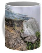 Over The Edge Niagara Falls Coffee Mug