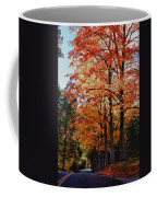 Over The Hill And Through The Trees Coffee Mug
