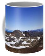 Over The Hills. Across The Fields. Coffee Mug by Evelina Kremsdorf