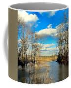 Over The Waters Coffee Mug