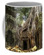 Overgrown Jungle Temple Tree  Coffee Mug
