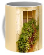 Overgrown Window Of Old Building Coffee Mug
