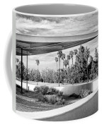 Overhang Bw Palm Springs Coffee Mug by William Dey