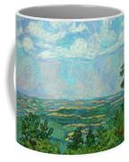 Overlook Near Peaks Of Otter Coffee Mug