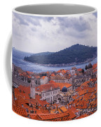Overlooking Dubrovnik Coffee Mug