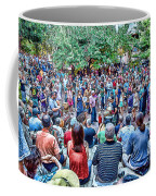 Overlooking The Asheville Drum Circle Coffee Mug