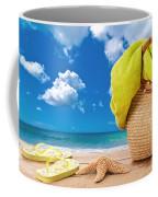 Overlooking The Ocean Coffee Mug by Amanda Elwell