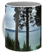 Overlooking The Ocean Coffee Mug