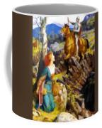 Overthrowing Of The Rusty Knight  Coffee Mug
