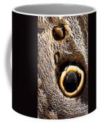 Owl Butterfly Wing Coffee Mug