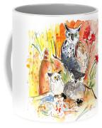 Owl Family In Velez Rubio Coffee Mug
