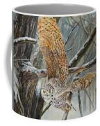 Owl Taking Off Coffee Mug