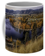 Oxbow Bend In The Wenatchee River Coffee Mug