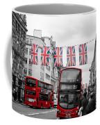 Oxford Street Flags Coffee Mug