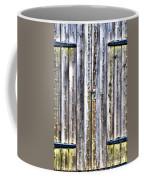 Oxidized Emerald Patina Coffee Mug