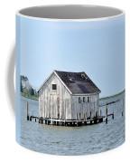 Oyster Shucking Shed Coffee Mug