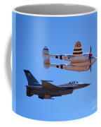 P-38 And Jet Coffee Mug
