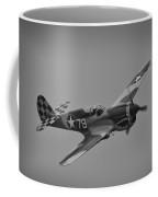 P-40 Warhawk Bw Coffee Mug