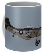 P-51 Landing Configuration Coffee Mug