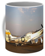 P-51 Mustang Fighter Aircraft Coffee Mug