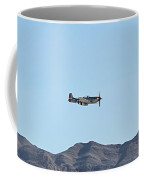 P-51  Mustang Flyby  Nellis  Afb Coffee Mug
