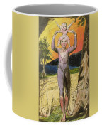 P.124-1950.pt29 Frontispiece To Songs Coffee Mug by William Blake