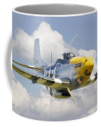 P51 Ferocious Frankie Coffee Mug by Pat Speirs