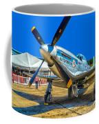 P51 Mustang  Kwitcherbitchin Coffee Mug