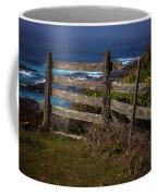 Pacific Coast Fence Coffee Mug