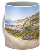 Pacific Coast Hwy Del Mar Coffee Mug by Mary Helmreich