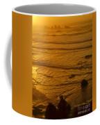 Pacific Ocean Sunset Bandon Beach Oregon Coffee Mug
