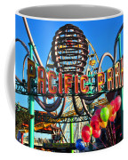 Pacific Park On The Pier Coffee Mug